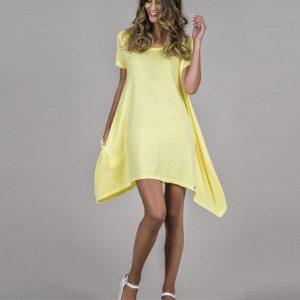 vestido-basico amarillo
